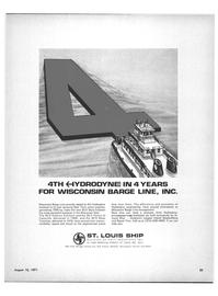 Maritime Reporter Magazine, page 23,  Aug 15, 1971 Myra Eckstein
