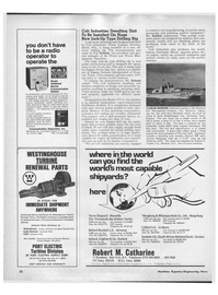 Maritime Reporter Magazine, page 30,  Aug 15, 1971 New York