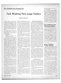 Maritime Reporter Magazine, page 33,  Aug 15, 1971