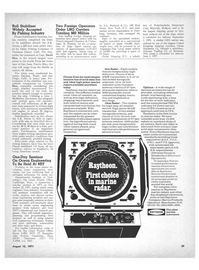 Maritime Reporter Magazine, page 3rd Cover,  Aug 15, 1971