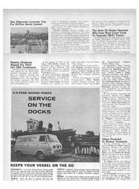 Maritime Reporter Magazine, page 4th Cover,  Aug 15, 1971 California