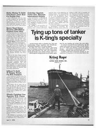 Maritime Reporter Magazine, page 9,  Apr 1972