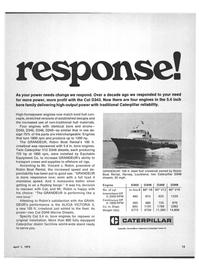 Maritime Reporter Magazine, page 11,  Apr 1972