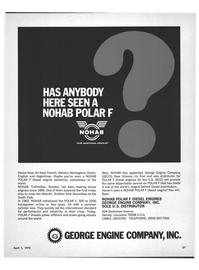 Maritime Reporter Magazine, page 17,  Apr 1972