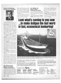 Maritime Reporter Magazine, page 33,  Apr 1972