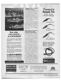 Maritime Reporter Magazine, page 2,  Apr 1972