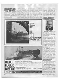 Maritime Reporter Magazine, page 38,  Apr 1972