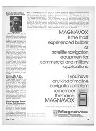 Maritime Reporter Magazine, page 39,  Apr 1972