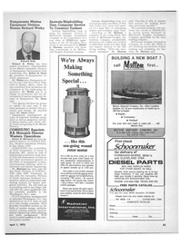 Maritime Reporter Magazine, page 43,  Apr 1972