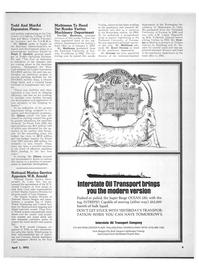 Maritime Reporter Magazine, page 7,  Apr 1972