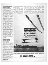 Maritime Reporter Magazine, page 9,  Mar 15, 1973