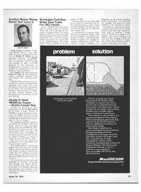 Maritime Reporter Magazine, page 11,  Mar 15, 1973