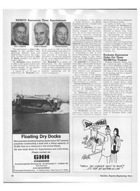 Maritime Reporter Magazine, page 16,  Mar 15, 1973 South Dakota
