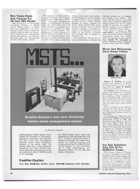 Maritime Reporter Magazine, page 18,  Mar 15, 1973