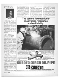 Maritime Reporter Magazine, page 19,  Mar 15, 1973