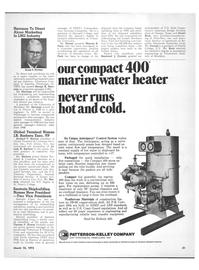 Maritime Reporter Magazine, page 27,  Mar 15, 1973