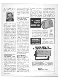 Maritime Reporter Magazine, page 29,  Mar 15, 1973