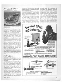 Maritime Reporter Magazine, page 31,  Mar 15, 1973