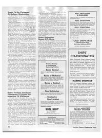 Maritime Reporter Magazine, page 32,  Mar 15, 1973