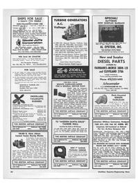 Maritime Reporter Magazine, page 38,  Mar 15, 1973