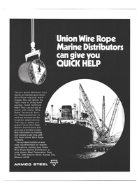 Maritime Reporter Magazine, page 3rd Cover,  Mar 15, 1973 toughest applications