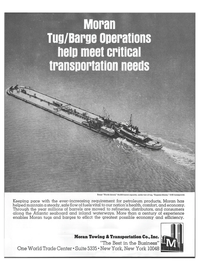 Maritime Reporter Magazine, page 8,  Nov 1973 meet critical transportation needs
