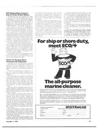 Maritime Reporter Magazine, page 21,  Nov 1973 Bethlehem A portable device