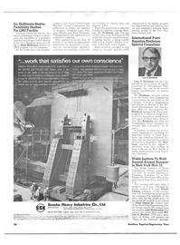 Maritime Reporter Magazine, page 22,  Nov 1973 Southern California