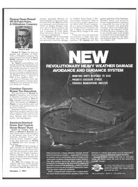 Maritime Reporter Magazine, page 29,  Nov 1973 North Atlantic