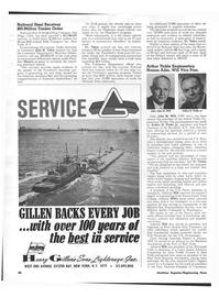 Maritime Reporter Magazine, page 34,  Nov 1973 Military Sealift Command