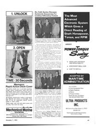 Maritime Reporter Magazine, page 35,  Nov 1973 Thomas B. Cole