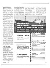 Maritime Reporter Magazine, page 37,  Nov 1973 Peter Baci Joins