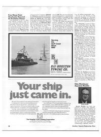 Maritime Reporter Magazine, page 44,  Nov 1973 Gulf coast