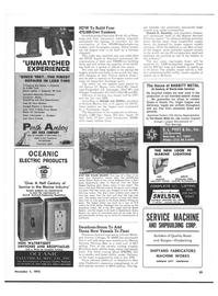 Maritime Reporter Magazine, page 49,  Nov 1973 California