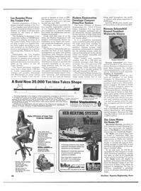 Maritime Reporter Magazine, page 52,  Nov 1973 N.Y