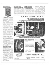 Maritime Reporter Magazine, page 53,  Nov 1973 eastern United States
