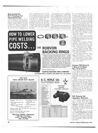 Maritime Reporter Magazine, page 54,  Nov 1973 California