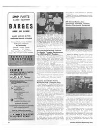 Maritime Reporter Magazine, page 56,  Nov 1973 C-3 Cimavis