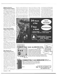 Maritime Reporter Magazine, page 57,  Nov 1973 Northern England