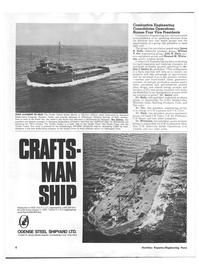 Maritime Reporter Magazine, page 4,  Nov 1973 Howard M. Winter