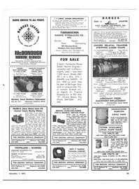 Maritime Reporter Magazine, page 61,  Nov 1973 New York