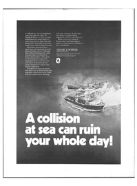 Maritime Reporter Magazine, page 4th Cover,  Nov 1973