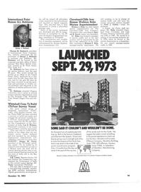 Maritime Reporter Magazine, page 13,  Dec 15, 1973