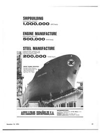Maritime Reporter Magazine, page 19,  Dec 15, 1973