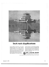 Maritime Reporter Magazine, page 23,  Dec 15, 1973 ST. LOUIS SHIP DIVISION OF POTT INDUSTRIES INC.