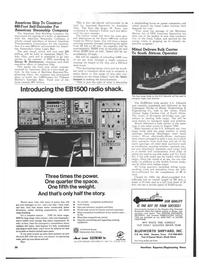 Maritime Reporter Magazine, page 34,  Dec 15, 1973