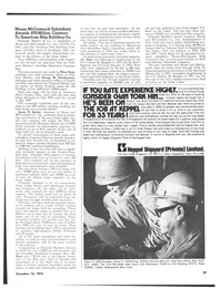 Maritime Reporter Magazine, page 37,  Dec 15, 1973