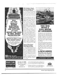 Maritime Reporter Magazine, page 2,  Dec 15, 1973