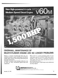 Maritime Reporter Magazine, page 39,  Dec 15, 1973