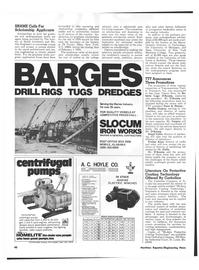 Maritime Reporter Magazine, page 40,  Dec 15, 1973